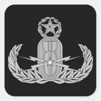 Master Explosive Ordnance Disposal EOD Square Sticker