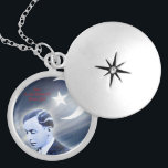 "Master Fard Muhammad Silver Plated Necklace<br><div class=""desc"">Picture of the founder of the Nation of Islam</div>"