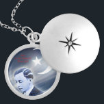 """Master Fard Muhammad Silver Plated Necklace<br><div class=""""desc"""">Picture of the founder of the Nation of Islam</div>"""
