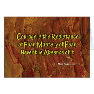 Master Fear Card