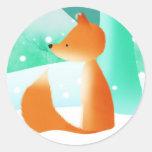Master Fox - stickers
