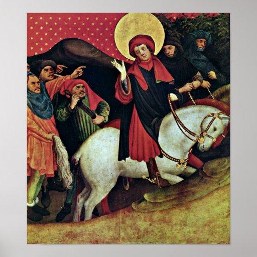 Master Francke - StThomas of Canterbury Poster