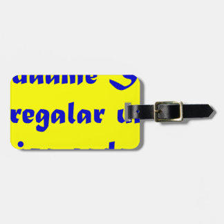 Master frases 15 03 luggage tag