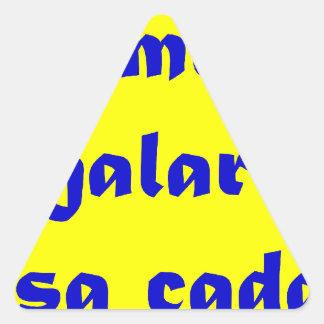 Master frases 15.03 triangle sticker