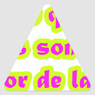 Master  frases 15.05 triangle sticker
