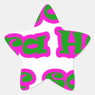 Master frases 15.07 star sticker