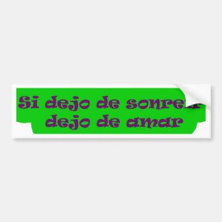 Master frases 15.10 bumper sticker