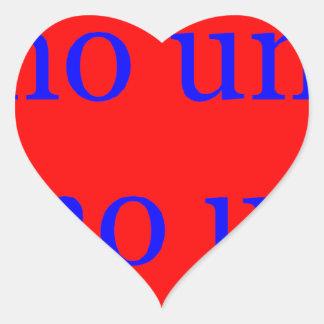 Master frases 17.05 heart sticker