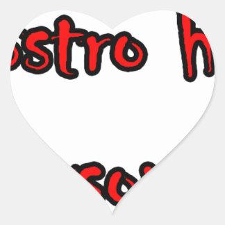 Master frases 3 heart sticker