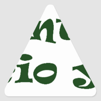 Master frases 7 triangle sticker