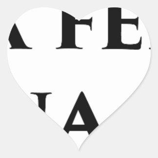 Master frases 9 heart sticker