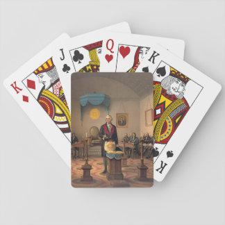 Master Freemason Washington 1870 Card Decks