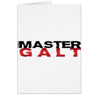 Master Galt Card