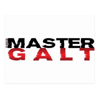 Master Galt Postcard