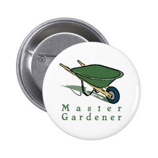 Master Gardener 2 Inch Round Button