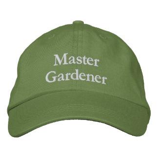 Master Gardener Embroidered Baseball Cap