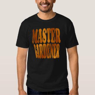 Master Gardener in Gold T-shirt