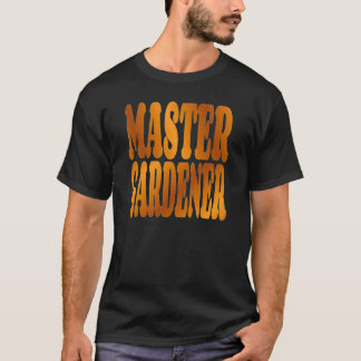 Master Gardener in Gold T-Shirt