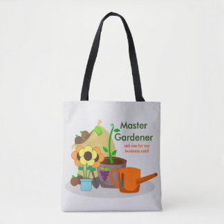 Master Gardener Print all over Tote Bag