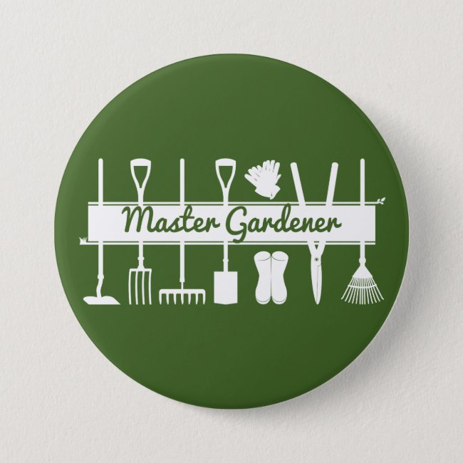 Master Gardener Simple Modern Forest Green