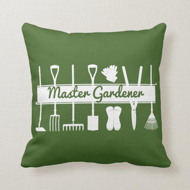 Master Gardener Simple Modern Forest Green Custom