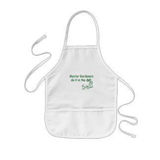 Master Gardeners Do It In The Soil Kids' Apron
