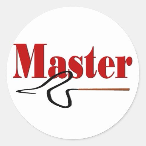 Master Gift Sticker