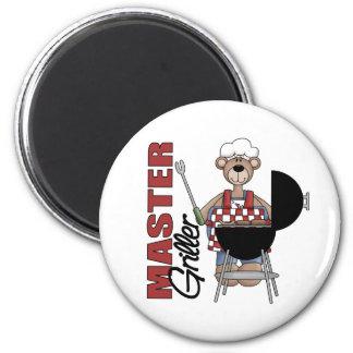 Master Griller 2 Inch Round Magnet