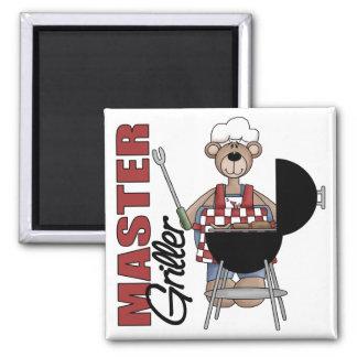 Master Griller 2 Inch Square Magnet