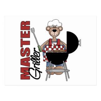 Master Griller Post Card