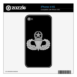 Master Jump/Parachutist Wings Skin For iPhone 4S