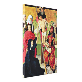 Master Life of Mary - Cross Gallery Wrap Canvas