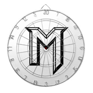 Master M Logo Dartboard