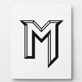Master M Logo Plaque
