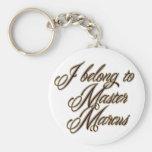 Master Marcus Basic Round Button Keychain