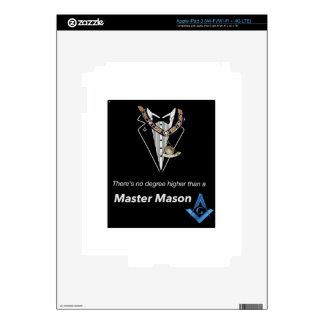 Master Mason iPad 3 Decal