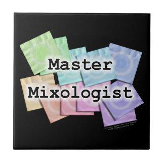 Master Mixologist Bartender Coaster Tile