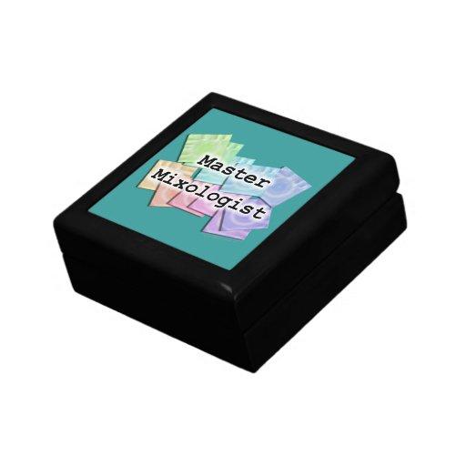 Master mixologist bartender gift box zazzle for Bat box obi