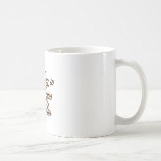 Master Nolan Classic White Coffee Mug