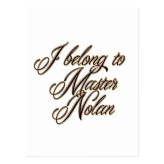Master Nolan Postcard