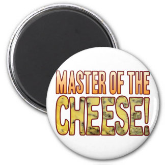 Master Of Blue Cheese 2 Inch Round Magnet