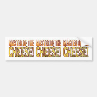 Master Of Blue Cheese Bumper Sticker