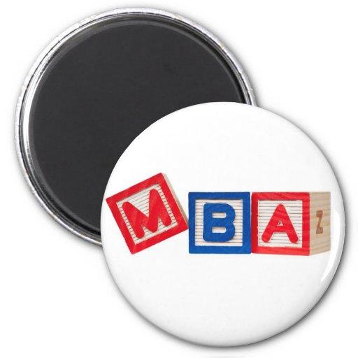 Master Of Business Administration Fridge Magnets