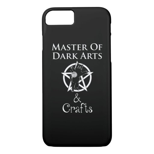 Master of Dark Arts & Crafts iPhone 8/7 Case