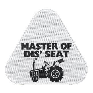 Master Of Dis' Seat Tractor Bluetooth Speaker