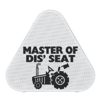 Master Of Dis' Seat Tractor Bluetooth Speaker