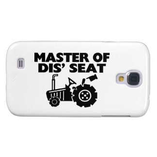 Master Of Dis' Seat Tractor Samsung Galaxy S4 Cover