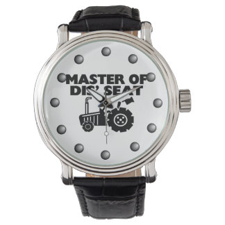 Master Of Dis' Seat Tractor Wrist Watch