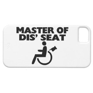 Master Of Dis' Seat Wheelchair iPhone SE/5/5s Case