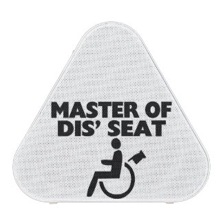 Master Of Dis' Seat Wheelchair Speaker